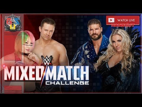 Download WWE MIXED MATCH CHALLENGE FINALS Live Stream WATCH PARTY HD April 3rd 2018