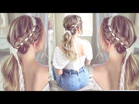 Ponytail Headband Braid By SweetHearts Hair