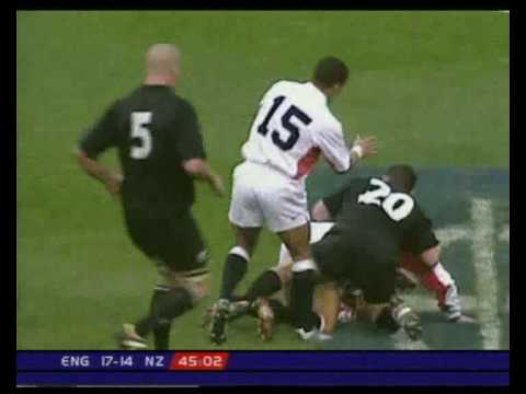 Jonny Wilkinson awesome try