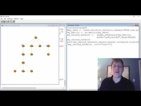 Introduction to Exploring Social Network Structure with Visualization in R