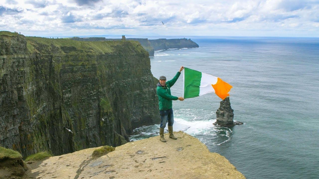 Irland Cliffs Of Moher Karte.Cliff Walk Doolin Cliffs Of Moher Doolin Cliff Walks