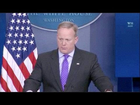 Feb 8, 2017 White House Press Briefing With Sean Spicer- Full Event