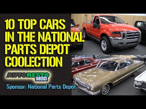 Top 10 Cars in the National Parts Depot Collection Interview Rick Schmidt Episode 249 Autorestomod