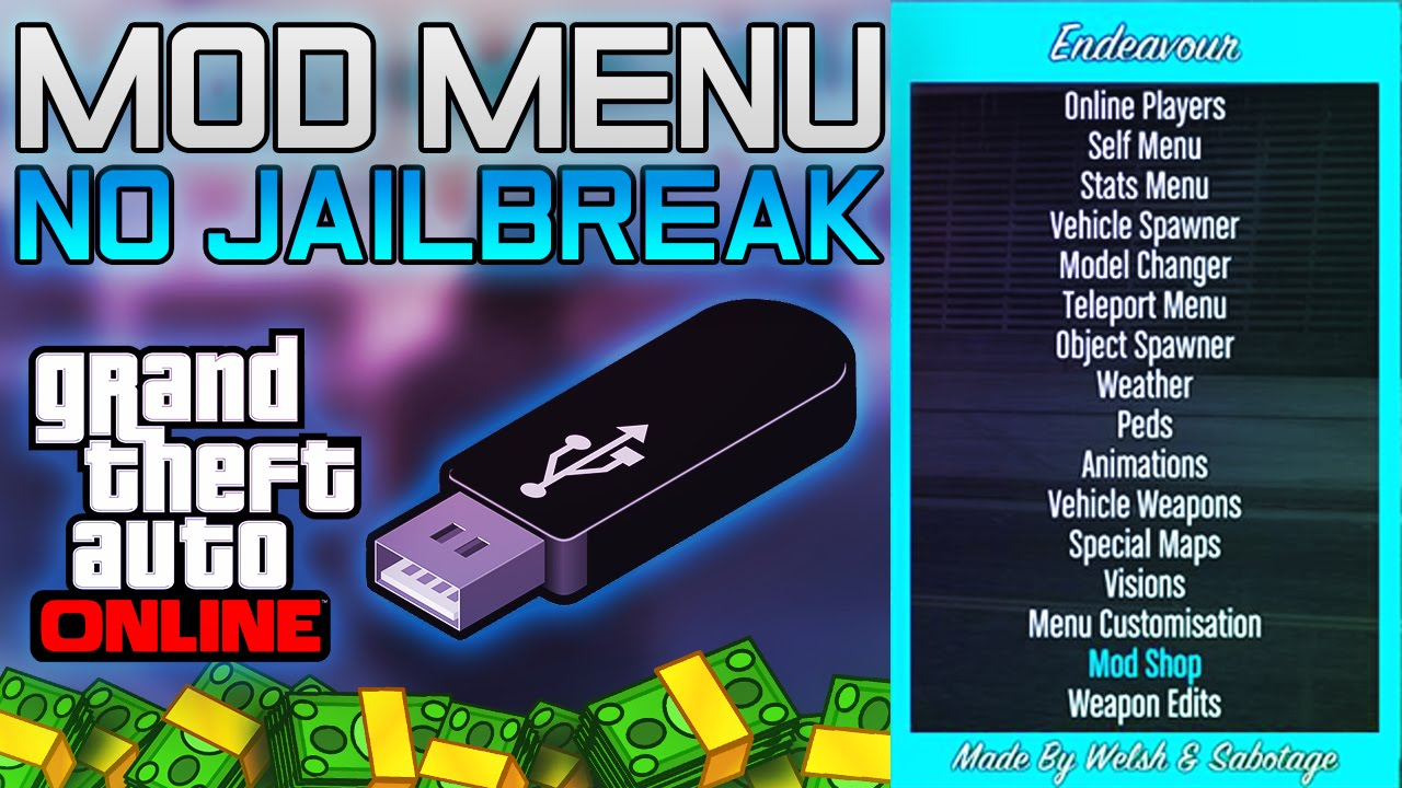 GTA 5 Online Install USB Mod Menu Tutorial! PS3 OFW NO