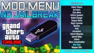 GTA 5 Online - Install USB Mod Menu Tutorial! PS3 OFW (NO JAILBREAK) GTA V Online 1.27/1.37 NEW 2017