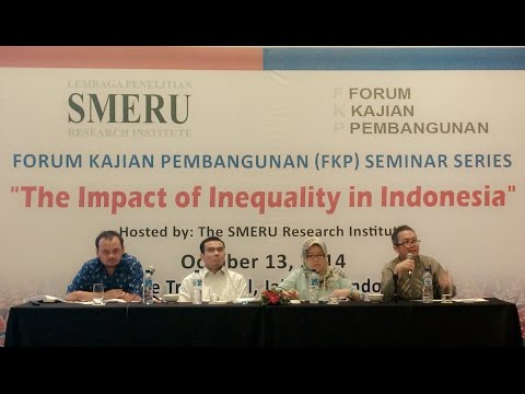 FKP Seminar 13/10/2014 - The Impact of Inequality in Indonesia