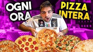 🍕 MANGIO UNA PIZZA INTERA ad  OGNI ORA PER UN GIORNO!