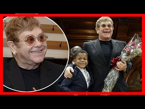 Breaking News | Elton john accepts humanitarian of the year award for aids charity