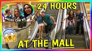 24 HOURS AT THE MALL | OVERNIGHT CHALLENGE | We Are The Davise…