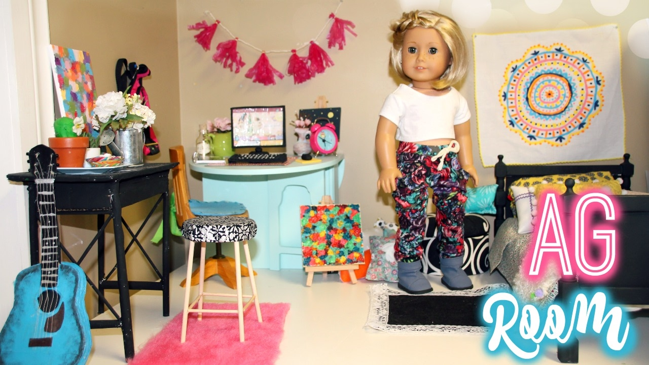 making an ag doll room american girl room vlog - How To Make A American Girl Room