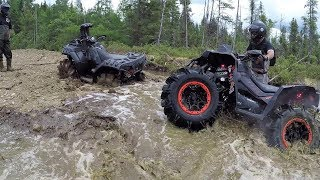 Who will break first? Polaris Sportsman xp1000 High Lifter, Can Am Renegade Xmr1000r