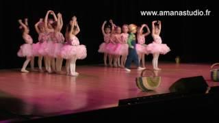 Ecole de danse amana studio - spectacle 2017 - eveil à la danse 4/5 ans
