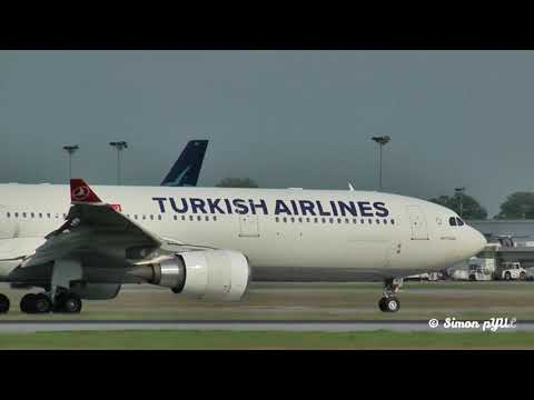 Turkish Airlines / A330-300 / TC-JNS  Landing at Montreal-Trudeau (YUL) ~ July 5, 2015