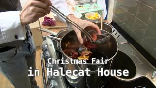 Deck the Halls Christmas Fair at Halecat House, Witherslack, Cumbria
