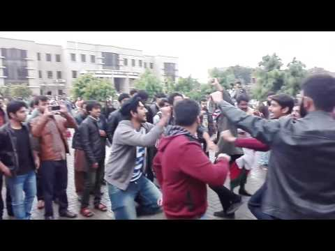 Dance on girls sports gala, Arid university Rawalpindi,