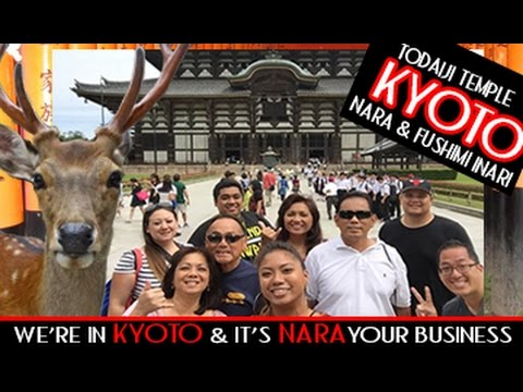 We're in KYOTO & it's NARA your business