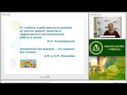 Менеджмент воспитания: современные представления об анализе воспитательного процесса