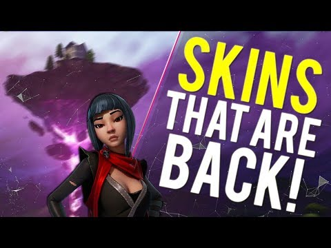 10 RARE SKINS THAT ARE COMING TO THE ITEM SHOP IN FORTNITE SEASON 6