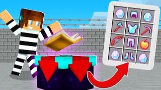 OS MELHORES ITENS DA PRISÃO !! - Minecraft Prisão #7