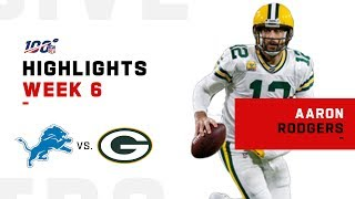 Aaron Rodgers' Clutch Comeback! | NFL 2019 Highlights