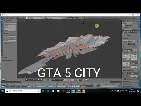 GTA 5 CITY 3D model download link! by Aquiver Games