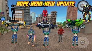 rope hero new update version 5.6 full gameplay / Rope Hero Vice Town screenshot 3
