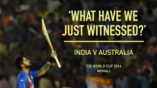 Kohli v Australia: 'He likes a fight, he likes a scrap' | ICC Men's T20 World Cup 201