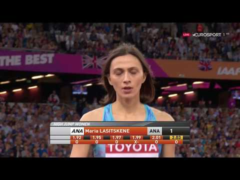 Mariya Lasitskene -  Gold Medal - IAAF world championship 2017 London