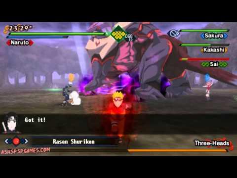 Naruto Shippuden: Kizuna Drive - PSP - Final Chapter: The Power Of Bonds! [1/2]