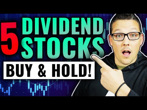 5 Dividend Stocks To Buy Now & Hold Forever In 2021! (Plus One Bonus Growth Stock)