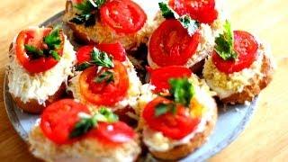 Вкусные Гренки / Блюдо к Праздничному Столу/ Бутерброды РЕЦЕПТ #22