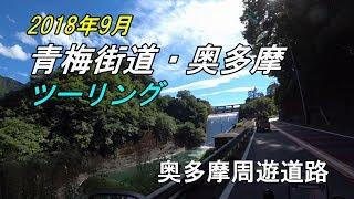 【CRF250 RALLY】 青梅街道・奥多摩ツーリング(奥多摩周遊道路) thumbnail