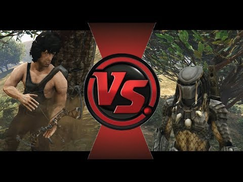 Rambo VS Predator - Ultimate Battle (GTA 5)