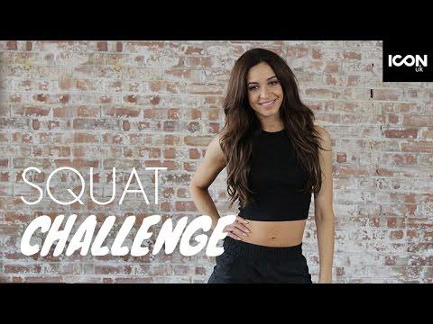 Workout: Squat Challenge  Danielle Peazer