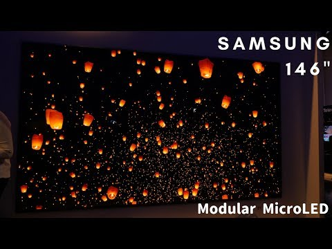 Samsung 146-inch Modular MicroLED 4K TV - The Wall