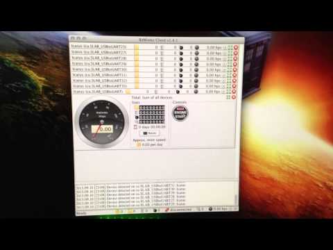 BITCOIN MINING - USB Block Erutper On MAC Pro OS X Using BitMinter