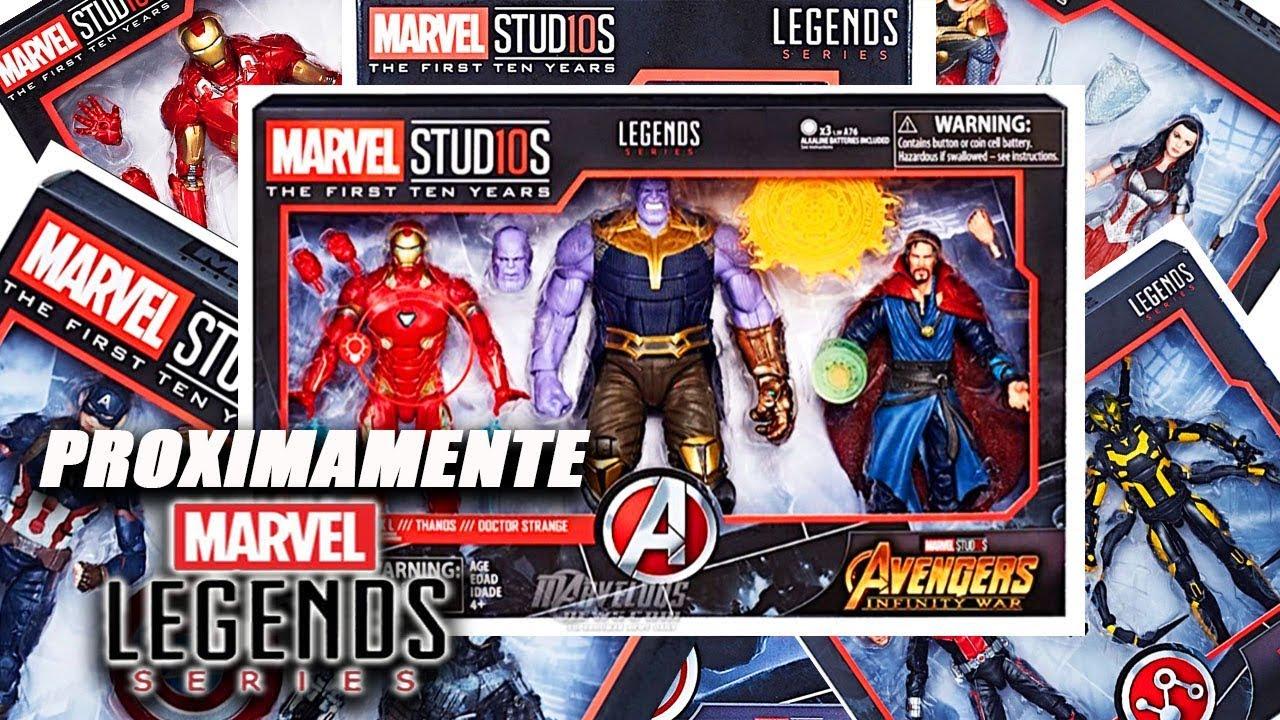Proximamente Años Primeros Los Studios De Legends 10 Marvel 3ARLq54j