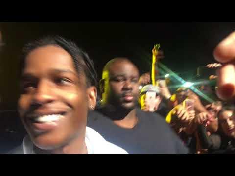 A$AP Mob - Get The Bag Live Portland, OR 10-27-17