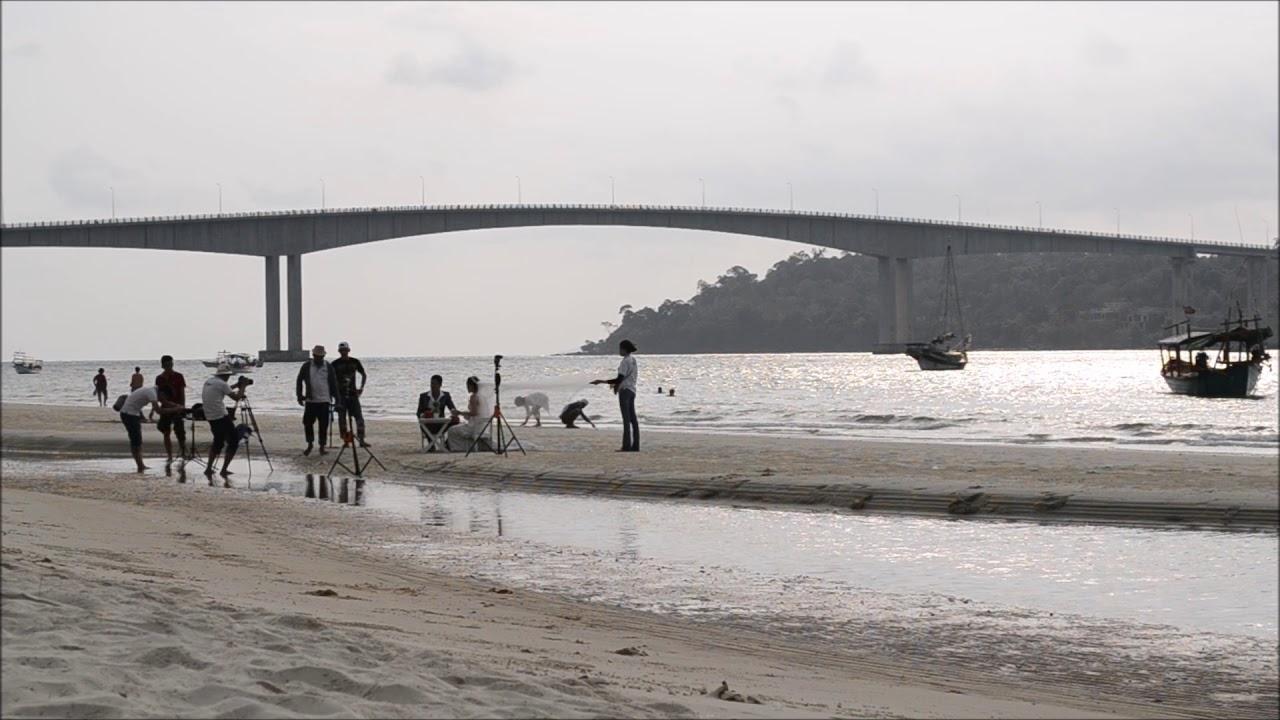 we found a NUDE beach - Koh Rong Samloem | CAMBODIA - YouTube