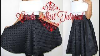 Beginner Sewing: DIY Circle Skirt with Zipper Installation
