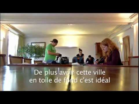 Marc saint goerges interview tv premiere with alan delabie -albert fautré Jalal Merhi