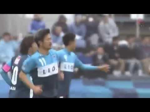 Unbelievable ! 48 year old Japanese legend Kazuyoshi Miura scored a brilliant header in J League 15