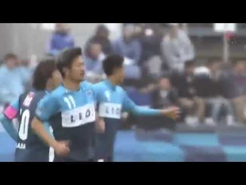 Unbelievable ! 48 year old Japanese legend Kazuyoshi Miura scored a brilliant header in J League 15