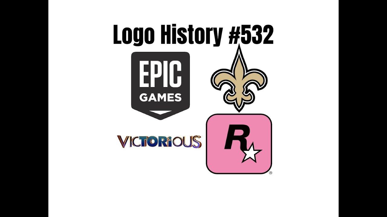 Logo History 532 Epic Games New Orleans Saints