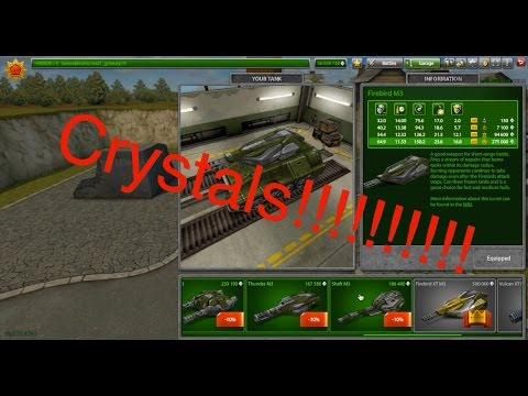 Tanki Online how to get crystals on the test server!