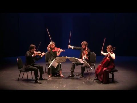 Beethoven, Quatuor op 18 n°6, Quatuor Girard, Auditorium J P  Dautel de Caen