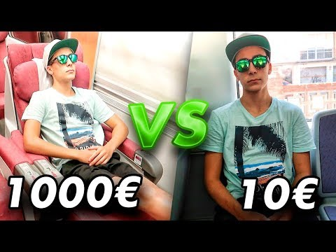 Download Youtube: TREN de 1000€ VS TREN DE 10€