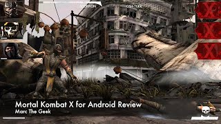 Mortal Kombat X for Android Review