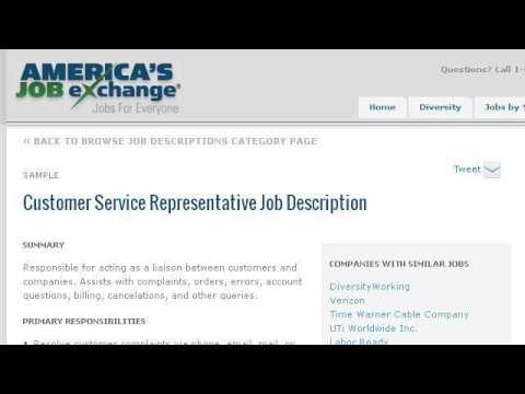 Job Description For A Billing Representative