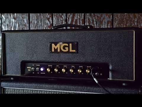 MGL Ampworks - MGL-50 High Gain Model - 1st Playthru/Demo!